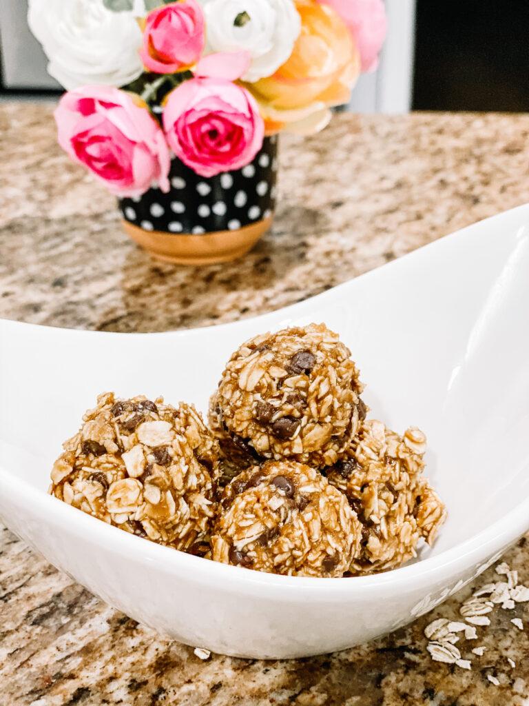 Nut Free! No Bake! Protein Energy Bites